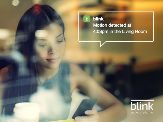 blink motion detection
