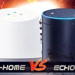 Amazon Echo vs Google Home (featured image)