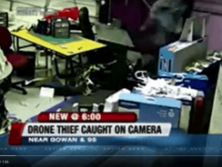 Daring thief caught on camera nabbing drone at hobby shop. Find out how he did it!