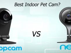 What's The Best Indoor Pet Cam? (Dropcam Pro vs Nest)