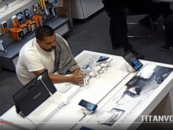 Thief Caught On CCTV Stealing Samsung Galaxy S6 – How Did He Do That?