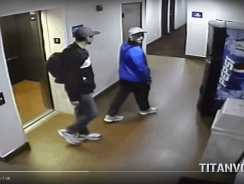 Vending Machine Thieves Caught on Camera. They Clearly Took More Than Just A Can Of Pepsi!