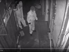 Restaurant Burglary Caught on Camera! Two Men Making Bad Decisions.