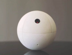 SensorSphere Is Like A Star Wars BB-8 Droid That Keeps Your Home Safe