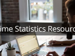 100+ Sources For Crime Statistics In the United States